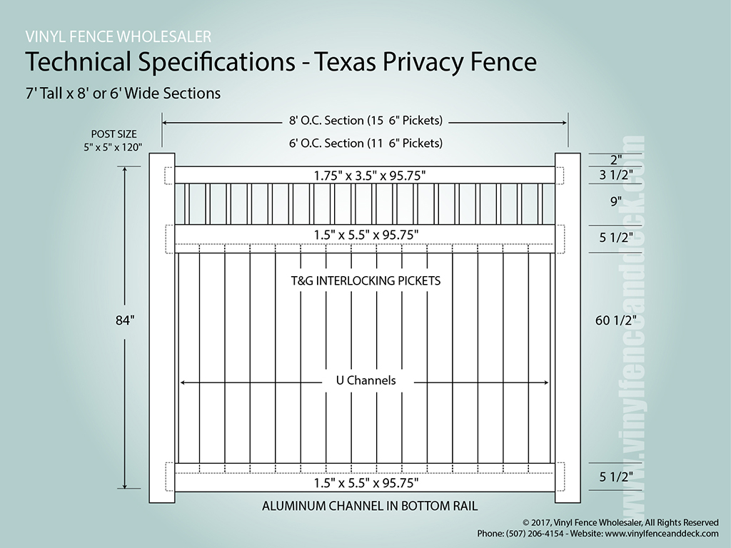 Texas vinyl privacy fence fencing from vinyl fence wholesaler texas privacy fences baanklon Image collections