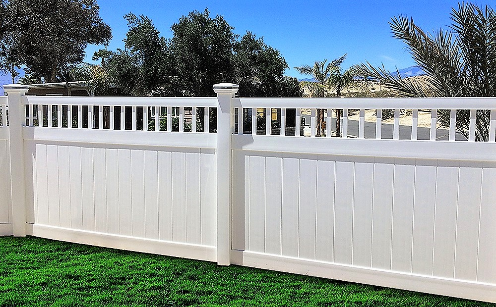 Vinyl Privacy Fence Commercial Grade Vinyl Privacy Fencing