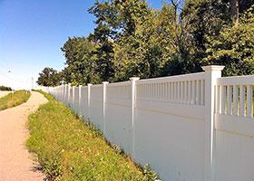 Texas Vinyl Privacy Fence plus Texas Vinyl Fencing