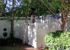 Texas Vinyl Fence, Texas Vinyl Privacy Fence