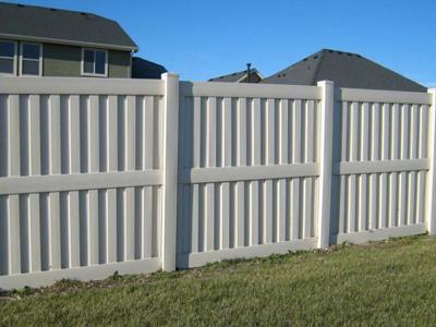 Heavy Duty Florida vinyl fence