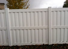 Heavy Duty Florida privacy fence