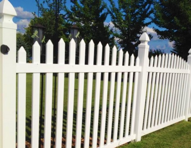 on sale nowolympia picket fence white vinyl picket fencing