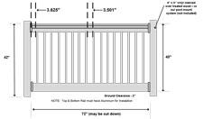 Commercial Grade Aluminum Railing