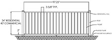 Wholesale Minnesota Aluminum Railing Factory Direct
