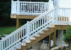 Sefton vinyl Railing wholesale