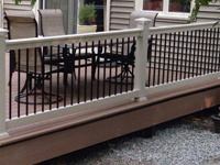 Beaumont vinyl railing