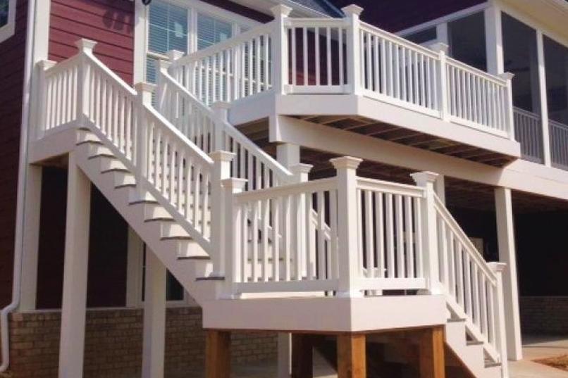 Sefton railing plus Sefton Stair railing - Sefton vinyl railing