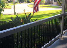 Beaumont Vinyl Railing + Beaumount Stair Rail