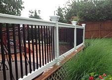 Houston vinyl railing