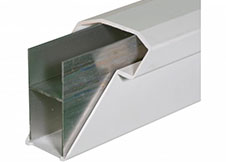 White Deck Railing