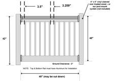Black Aluminum Railing Wholesale