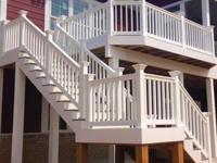 Sefton vinyl railing