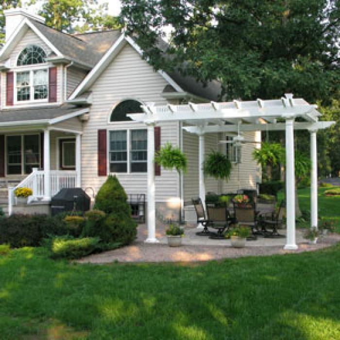 tall patio cover