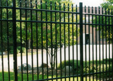6 Foot Tall Aluminum Fence