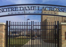 8' Tall Aluminum Double Gate