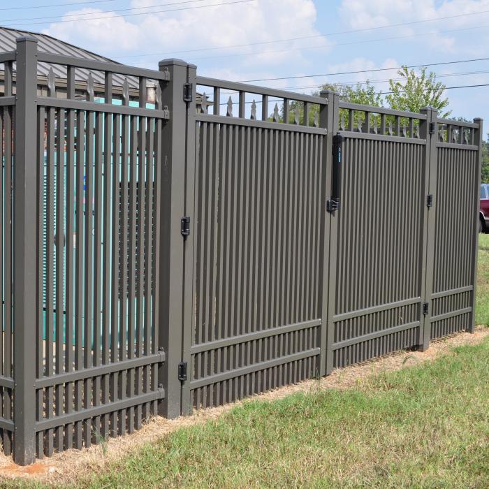 Aluminum fence heavy duty panels factory