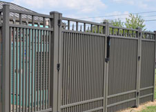 8' Tall Commercial Grade Aluminum Fence