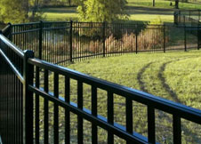 6' Tall Commercial Grade Aluminum Fence