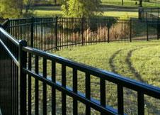 6' Tall Commercial Grade Aluminum Fence