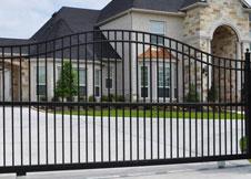 8' Tall aluminum gate