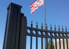 Aluminum Fence made in USA