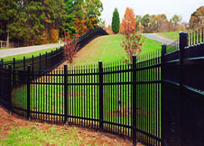 Heavy Duty Aluminum Fence