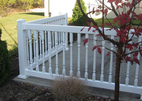 Boston Vinyl Railing and Vinyl Stair Railing