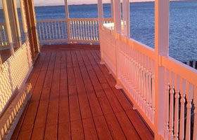 Boston PVC Railing and Vinyl Stair Rail