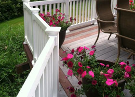 Cardinal Vinyl Railing and Stair Railing