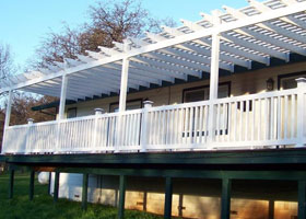 Cardinal PVC Railing and Stair Railing