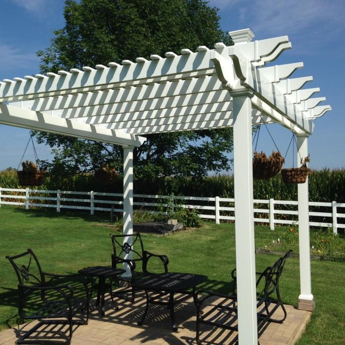 heavy duty pergolas
