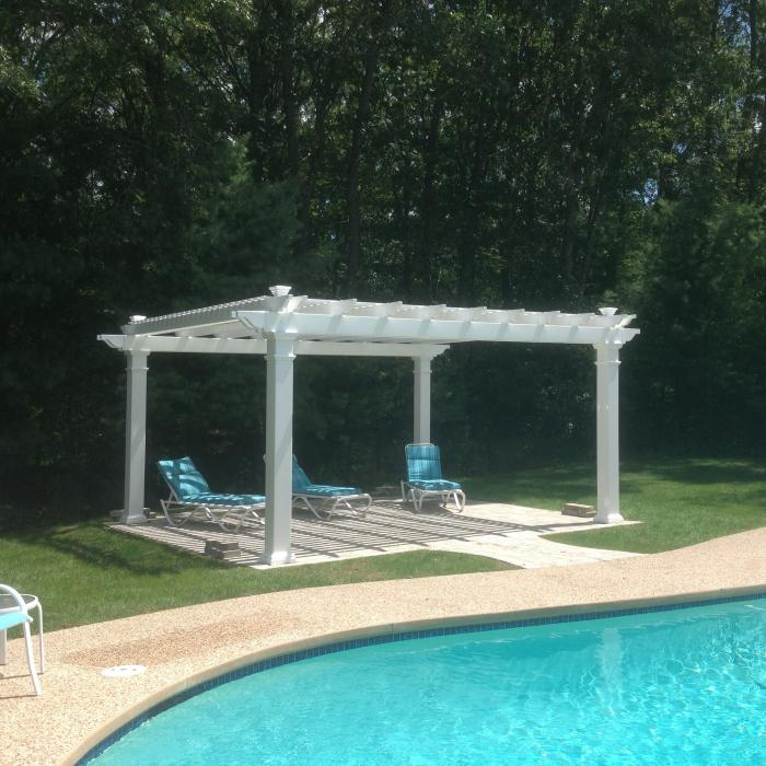 vinyl pergolas factory direct