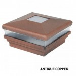 Neptune Copper Vinyl Fence Post Cap