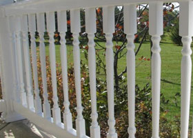 Salem Vinyl Railing and Salem Vinyl Stair Railing