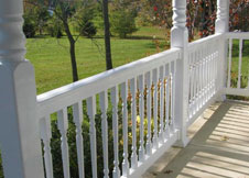Commercial Grade Salem vinyl railing