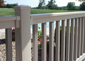 Winston Vinyl Railing and Vinyl Stair Railing
