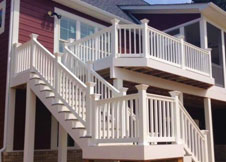 Heavy Duty Vinyl Railing