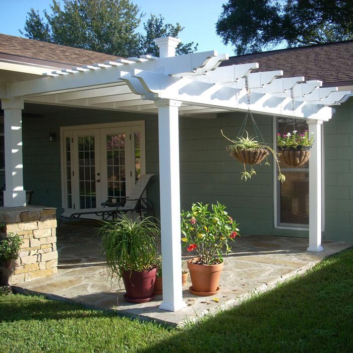 double beam patio cover