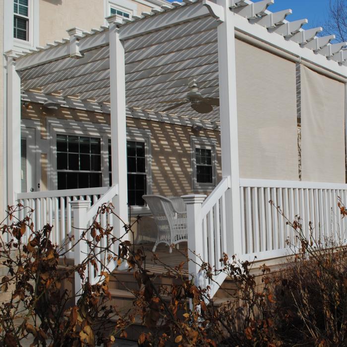 pergolas and patio covers