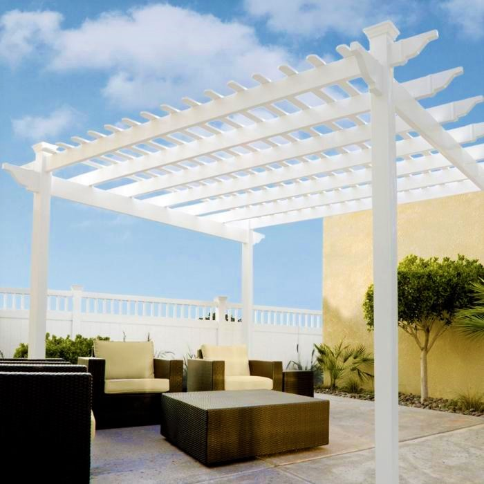 single beam patio cover