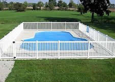 3' Tall Atlantis pool fence