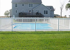 5' Tall Atlantis pool fence