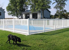 6' Tall Atlantis pool fencing