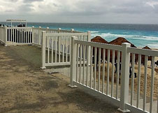 Atlantis PVC Pool fence