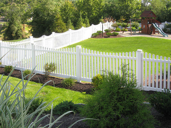 Austin Picket Fence Vinyl Picket Fence Factory Direct