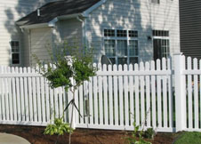 Austin picket fencing