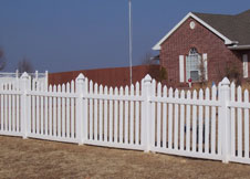 Austin picket fence