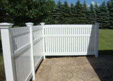 Bel Air White Pool Fencing