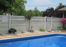 bel air 8' tall pool fence